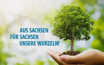 Baumspende – Aus Sachsen für Sachsen – unsere Wurzeln!
