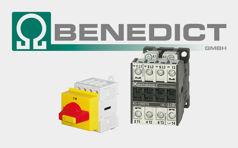 Benedict – Schütze, Motorstarter, Motorschutzrelais …